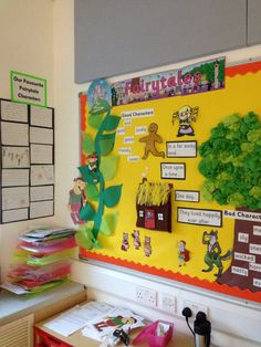 Fairytales display Class Displays, School Displays, Classroom Displays, Traditional Tales, Traditional Stories, Classroom Decor Themes, Classroom Fun, Fairy Tale Activities, Fairy Tales Unit