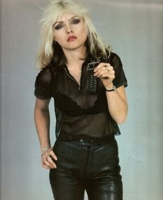 Debbie Harry- 70s to 80s transition style icon