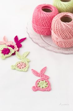 Easter Crochet Bunny free pattern, Anabelia Craft Design