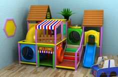 Amazing Gorgeous And Beautiful Best Indoor Home Playground Idea With Indoor Play Structure Soft Contained Playground Design