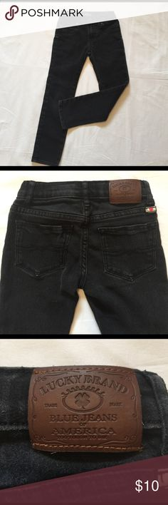 Girls stretch jeans Lucky Brand Girls stretch Zoe Legging jeans in black. Lucky Brand Bottoms Jeans