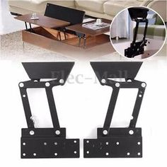 Details About Lift Up Top Coffee Table Diy Hardware Fitting Furniture Gas Hydraulic Hinge Hard