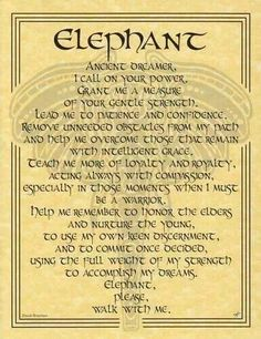 Elephant - a beautifully written prayer dedicated to the Lord Ganesha