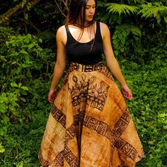 """South Pacific Islanders on Instagram: """"Stunning tapa skirt & hand woven fala dress by @litaunufe . #pacificwear #pacificfashion #elegance #confidentwoman #pacificstyle #stylist…"""""""