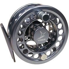 Vosseler DC2 Fly Reel State-of-the-art design and engineered for durability! Vosseler's best-selling reel is suitable not only for freshwater fishing, but also for light saltwater use on species such as sea trout or bonefish. Technical and optical facelift in 2010 makes this reel lighter and stronger. The ultra-efficient drag system has been revamped to provide more braking force. Protects delicate leaders and similarly holds a strong trout in a fast river.