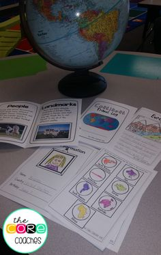 Earth animated teaching globe graphics for whiteboards virtual students had a great time learning about continents through research and note taking they loved publicscrutiny Choice Image
