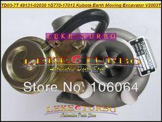 282.09$  Know more  - Free Ship TD03 07B 49131-02000 49131 02000 16483-17012 Turbo Turbocharger For Kubota Marine 5.250 Nanni Tractor F2503 TE 2.5L