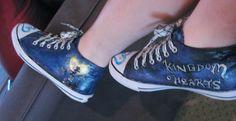 Kingdom Hearts custom painted shoes 6 by thedarkartistgirl.deviantart.com on @deviantART