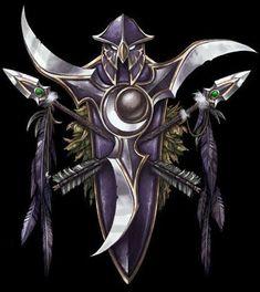Warcraft - Night Elf Crest