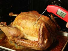 How to Take the Temperature of Your Turkey