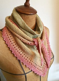Ravelry: Project Gallery for Simple Shawl pattern by Jane Hunter
