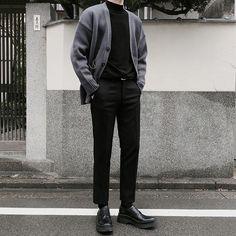 Mens fashion Asian Simple - - Mens fashion Business Boyfriends - - Mens fashion Preppy Jeans - Mens fashion Business Tips Korean Fashion Men, Boy Fashion, Fashion Outfits, Dark Mens Fashion, Korean Men, Fashion Fashion, Fashion Trends, Casual Outfits, Men Casual
