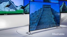 "Sony's newest lineup of 4K televisions are so thin, the bezels are meant to ""disappear"" when mounted on the wall."