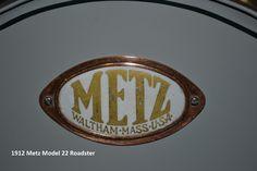1912 Metz Model 22 Roadster 176.7ci 22.5HP 4Cylinder Badge