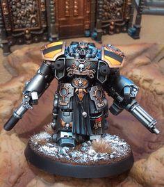 Forums / Peinture / Iron Within, Iron Without, mon armée Iron Warriors | News : dread - Mini Créateurs