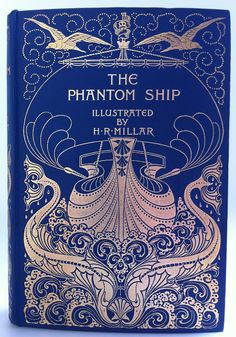 The Phantom Ship by Captain Marryat | Beautiful Antique Books