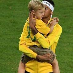 Melhor noite impossível !! #Olimpíadas #rio2016 #OUROCONQUISTADO #neymar…