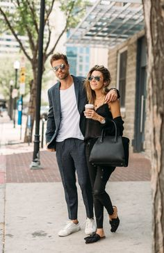 The Fail-Proof outfit combo for fall, with multiple options under $100 as shared by Christine Andrew of Hello Fashion Blog.
