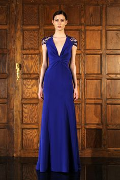 Reem Acra Pre-Fall 2012 Collection Slideshow on Style.com