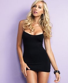 Black Mini Dress Beauty