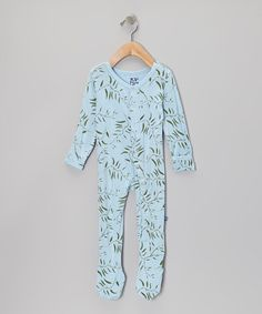 f059d690a1432e Pond   Seaweed Footie - Infant by KicKee Pants Seaweed