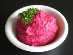 Hummus con remolacha. Recetas veganas de Vegetarianismo.net