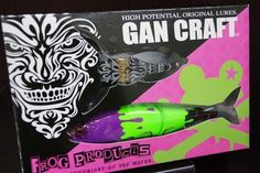 Gan Craft×frog Products Collaboration Lure Set