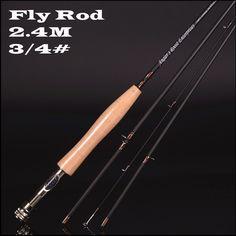 High carbon fly <font><b>fishing</b></font> <font><b>rod</b></font> 2.4 m 2.58 meters 4 section line wt 3/4 4/5 <font><b>fishing</b></font> <font><b>rod</b></font> fly <font><b>rod</b></font> <font><b>fishing</b></font> tackle Price: INR 6658.4349 | India