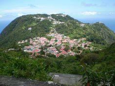 Saba. Island.