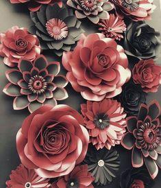 #Paper#Flowers#colorsample Awe