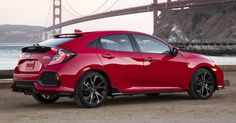 It is one of Honda's most successful models ever. Honda Civic is fantastic for the mileage. Civic Hatchback 2017, Honda Civic Hatchback, Honda Civic Sport, Honda Civic Coupe, Honda Models, Honda Cars, Super Sport Cars, Dream Cars, Vans