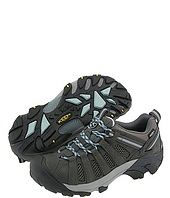 Keen shoes.   Nice shoes for easy hikes...(also excellent for walking on lava!)