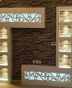 Drywall design, Gypsum board wall design, Gypsum tv wall cabinets, Gypsum TV wall design, gypsum board design catalogue for TV wall cabinets 2019 Modern Tv Room, Modern Tv Wall Units, Modern Living, Tv Unit Decor, Tv Wall Decor, Living Room Tv Unit Designs, Ceiling Design Living Room, Lcd Wall Design, Tv Unit Furniture Design