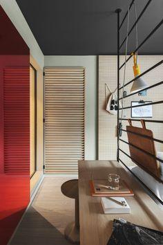 "Designer Werner Aisslinger was responsible for the interior design of the new Stockholm hotel ""Hobo""."