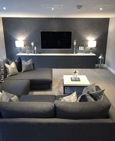 54 The Best Living Room Interior Design That You Can Try In Your Home Living Room Decor Design Home Interior Living Room Apartment Interior Design, Best Interior Design, Modern Interior, Scandinavian Interior, Interior Ideas, Gray Interior, Scandinavian Style, Scandinavian Bathroom, Minimalist Interior