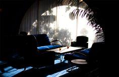 The light in the lobby of the Maritime Hotel, New York, via Garance Doré