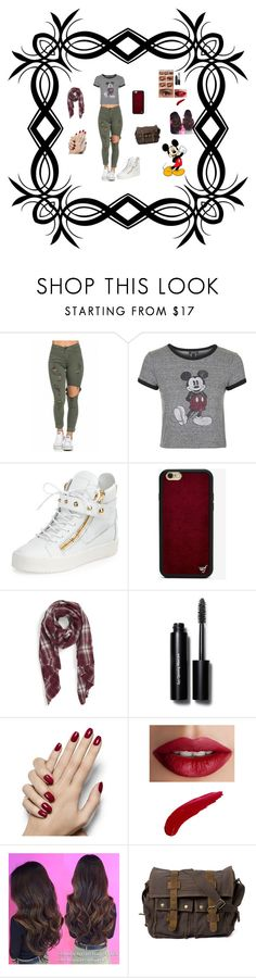 """Micky Mouse Modern Chick"" by izzefizzy ❤ liked on Polyvore featuring mode, Topshop, Giuseppe Zanotti, Wildflower, Sole Society, Bobbi Brown Cosmetics, TheBalm, Disney en modern"
