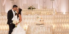 Carmen's Banquet Centre is a wedding and event venue in Hamilton with all inclusive wedding packages, catering, décor, event planning services & more. Head Table Wedding, Our Wedding, Wedding Ideas, Wedding Venues Ontario, Head Table Decor, Hamilton Ontario, Cake Table, Reception Decorations, Event Venues
