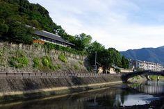 Scenic Uwajima City in Ehime Prefecture
