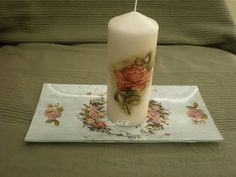 Dreams & Fantasies: Velas y Portavelas Dream Fantasy, Pillar Candles, Dreams, Trays, Crystals, Taper Candles
