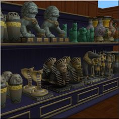 Relics from TS3 World Adventures