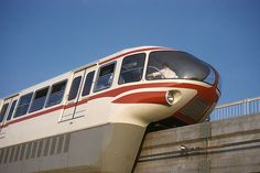 "Turin, monorail de l'Exposition ""Italia '61"" 