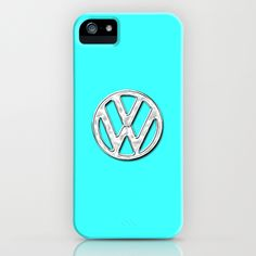 VW Teal iPhone Case
