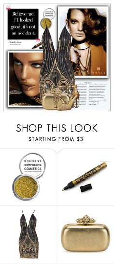"""Honey Couture #7"" by shambala-379 ❤ liked on Polyvore featuring Obsessive Compulsive Cosmetics, Alexander McQueen and Dolce&Gabbana"