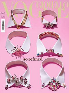 Jeweled collars