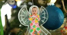 I took these picture of the kids in their Christmas jammies back in November intending to turn them into some sort of photo ornaments. I di...
