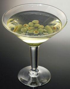 Fake Food Jumbo Martini Fake Food, Bar Drinks, Food Items, Martini, Seafood, Vegetables, Fruit, Tableware, Recipes