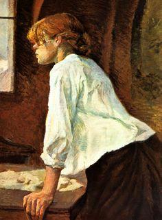 IMPRESSIONISMUS Henri de Toulouse-Lautrec FRANZOSE MALER WÄSCHERIN BÜTTENFAKS 53 - Billerantik