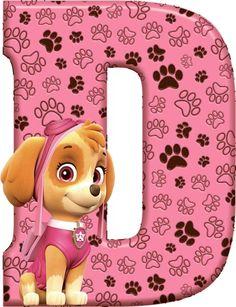 D Paw Patrol - Skye Sky Paw Patrol, Paw Patrol Party, Paw Patrol Birthday Girl, Cumple Paw Patrol, Alphabet For Kids, Disney Coloring Pages, 4th Birthday, Minnie Mouse, Creations