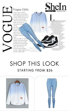 """H - SHEIN"" by hchocolati ❤ liked on Polyvore featuring New Look"